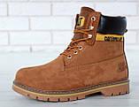 Зимние ботинки Caterpillar, зимние ботинки катерпиллер, зимові черевики Caterpillar, черевики катерпіллер, Cat, фото 5