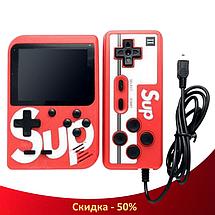 Ігрова приставка SUP Game Box 400в1 - Приставка Dendy для двох гравців, з джойстиком, з підключенням до ТБ, фото 3