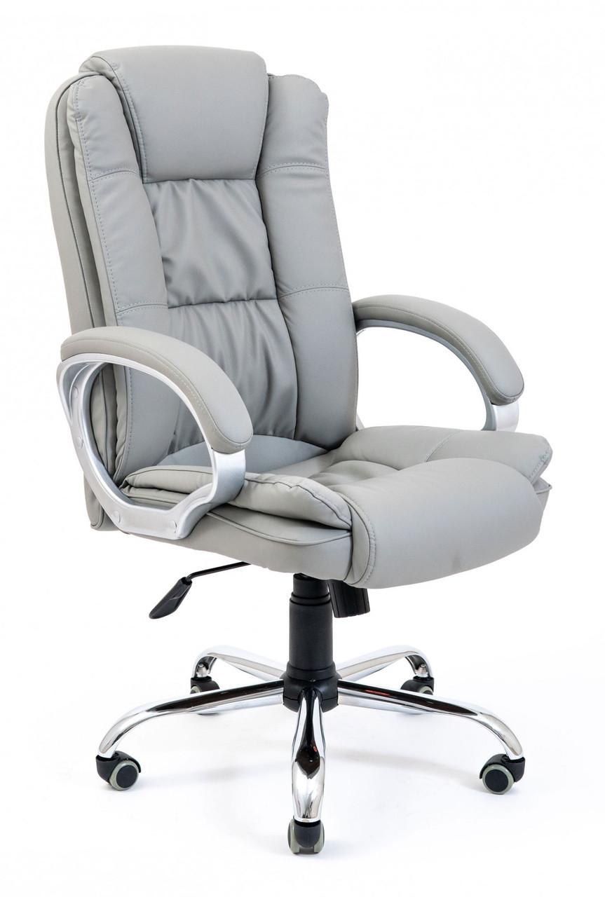 Офисное Кресло Руководителя Richman Калифорния Fly 2232 Хром М3 MultiBlock Серое