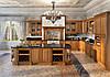 Кухни из натурального дерева на заказ в Киеве, кухонная мебель из массива ценных пород