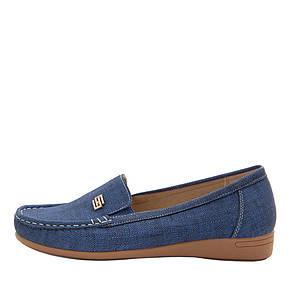 +, + 37121603, + 37121603, + 32202, +  , +  , + Вид обуви Мокасины, + Синий, + Текстиль, + Весна\осень, фото 2