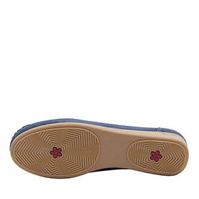 +, + 37121603, + 37121603, + 32202, +  , +  , + Вид обуви Мокасины, + Синий, + Текстиль, + Весна\осень, фото 3