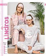 Женская пижама махровая Красота