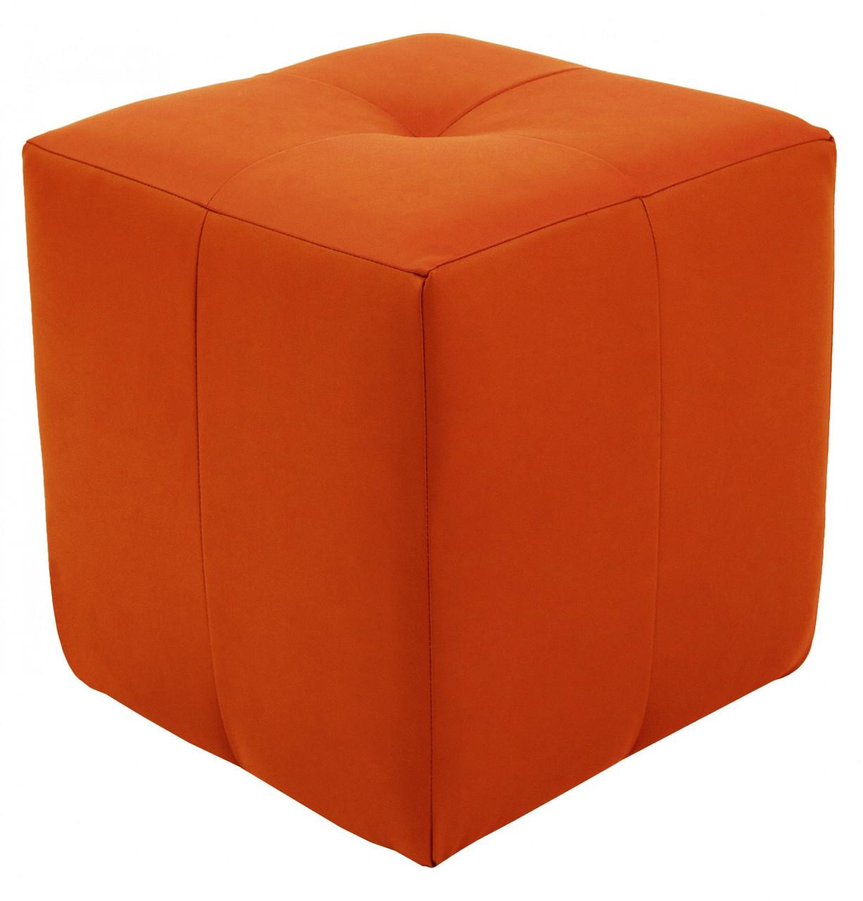 Пуфик Кристи Richman 40 x 40 x 45Н Fly 2218 Оранжевый
