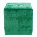 Пуфик Кристи Richman 40 x 40 x 45Н Fint Forest Зеленый, фото 3