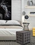 Пуфик Матильда Richman 40 x 40 x 45Н Fibril 16 Серый, фото 4