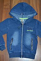 Джинсовая курта для мальчика Венгрия  14 р. ( 158/164), фото 1