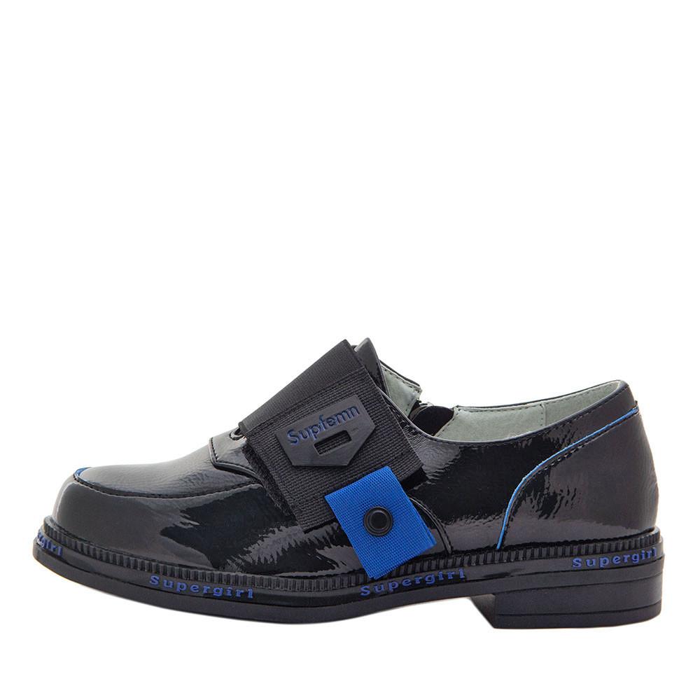 Туфли для девочек Optima MS 21569 черный (31)