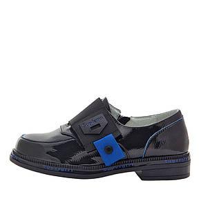 Туфли для девочек Optima MS 21569 черный (31), фото 2