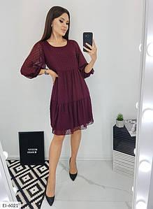 Сукня EI-6021 в кольорах до великих розмірів