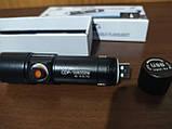 Тактический фонарик на аккумуляторе USB Police BL-616-T6, фото 2