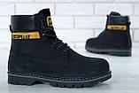 Зимние ботинки Caterpillar, зимние ботинки катерпиллер, зимові черевики Caterpillar, черевики катерпіллер, Cat, фото 3