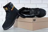 Зимние ботинки Caterpillar, зимние ботинки катерпиллер, зимові черевики Caterpillar, черевики катерпіллер, Cat, фото 8