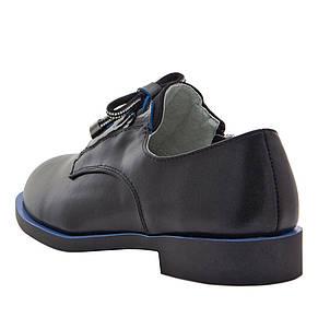 Туфли для девочек Optima MS 21561 черный (32), фото 2
