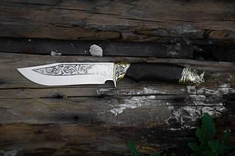 """Подарочный нож ручной работы """"Носорог"""", 40Х13, фото 2"""