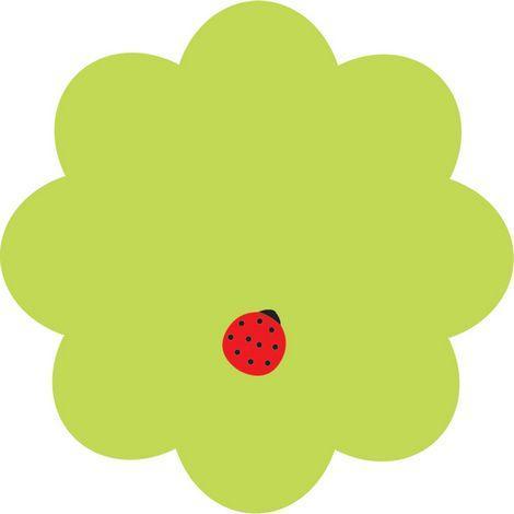 Стикеры Axent Flower 70*70 мм, 50 л,  2444-05