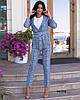 Женский костюм двойка клетчатый 990 (75), фото 2