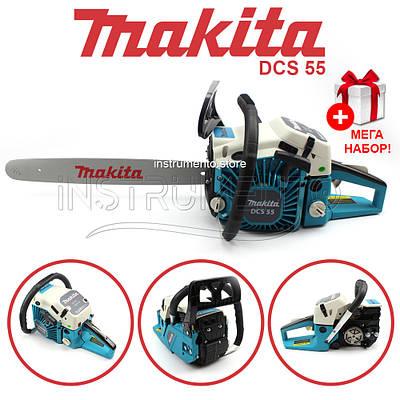 Бензопила Makita DCS 55 (шина 45 см, 3.6 кВт) Пила Макита DCS 55