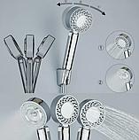Лейка для душа двусторонняя MULTIFUNCTIONAL FAUCET с отсеком для шампуня, экономия воды, фото 10