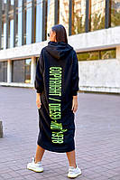 Длинное женское платье в спортивном стиле большого размера.Размеры:44/46,48/50+Цвета, фото 1