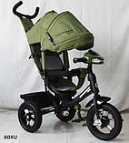 Трехколесный Велосипед Сrosser OneТ1 надувные колеса, фото 3
