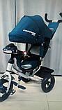 Триколісний Велосипед Сгоѕѕег ОпеТ1 надувні колеса, фото 7