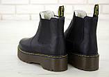 Женские зимние ботинки Dr. Martens 2976 Chelsea (Мех), др мартенс, жіночі черевики Dr Martens, ботінки мартінс, фото 6