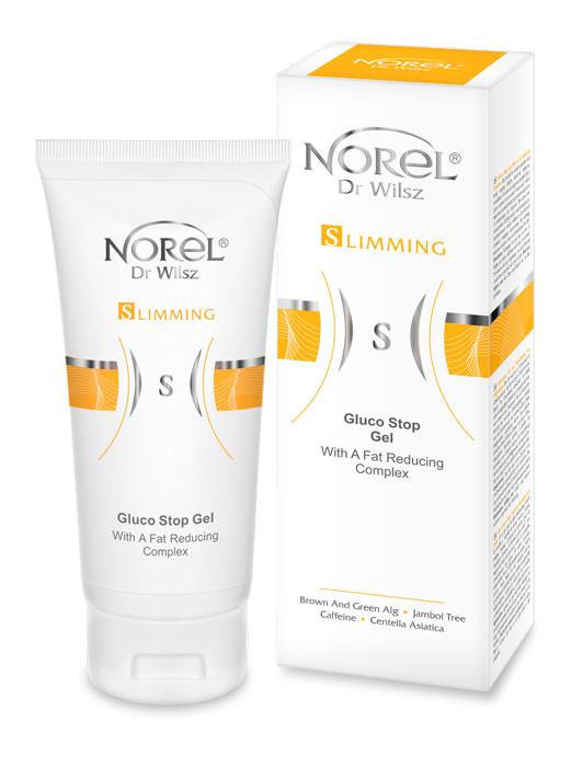 Жиросжигающий лимфодренажный гель NOREL Gluco Stop gel with a fat reducing complex