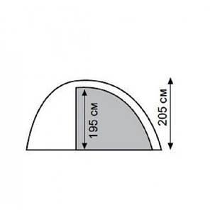 Четырехместная палатка Tramp Lite Anchor 4 TLT-032.06, фото 2
