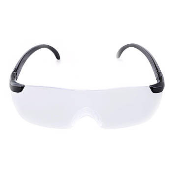 Увеличительные очки-лупа для чтения шитья сборки мелких деталей Big Vision 160% Черный (2991-8057)