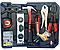 Большой набор инструментов 399 pcs  от Swiss Craft International PL-399ТLG, в чемодане, с колесами, фото 4