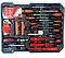 Большой набор инструментов 399 pcs  от Swiss Craft International PL-399ТLG, в чемодане, с колесами, фото 5