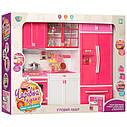 Игровой набор Детская кухня (звуковые и световые эффекты, посуда), фото 3
