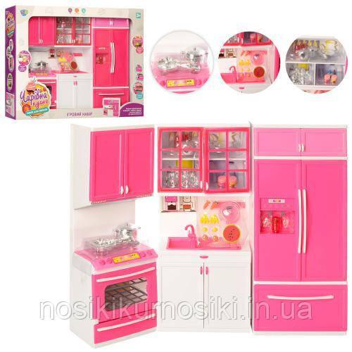 Игровой набор Детская кухня (звуковые и световые эффекты, посуда)