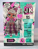 Оригінал. Лялька лол сюрприз JK Леді Діва LOL Surprise JK Diva Mini 570752, фото 1