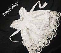 Хрестильна сукня+ повязочка для дівчинки з іменною вишивкою