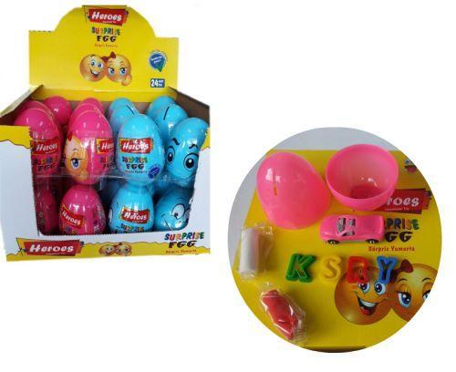 """Детская игрушка Большое яйцо-сюрприз """"Heroes"""" E ERN-028"""