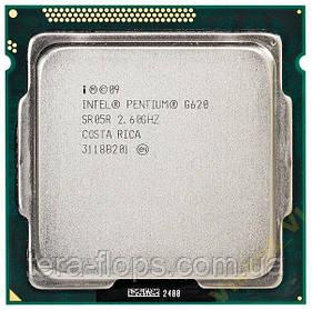 Процессор Intel Pentium G620 LGA 1155 (BX80623G620) Б/У