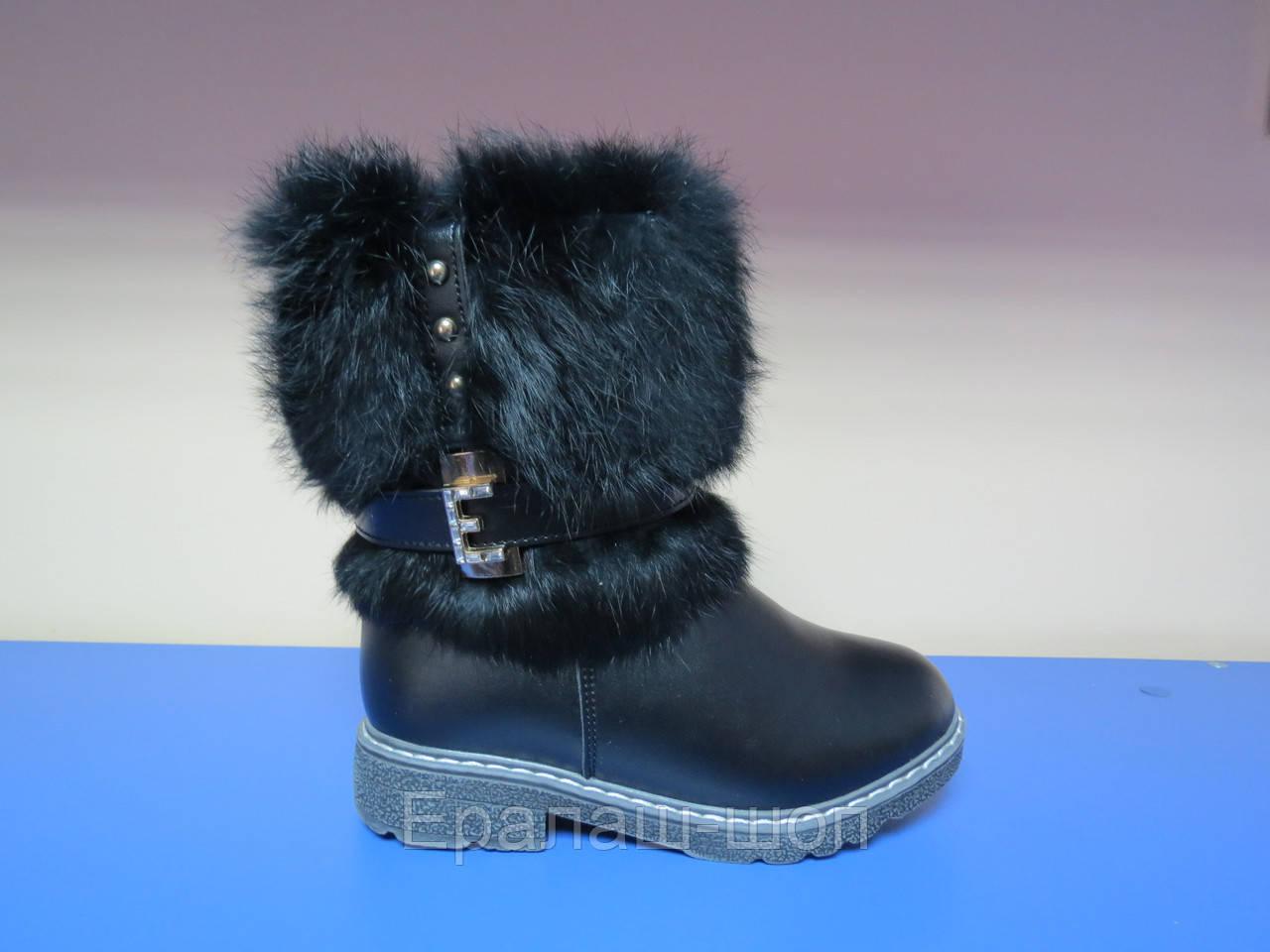 9a04beb59 Распродажа!Зимние сапоги/ботинки для девочек 27р(17.5 см стелька) - Ералаш