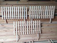 Деревянный декоративный заборчик, декоративный садовый заборчик, заборчик для клумбы, заборчик для цветника