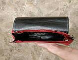 Сумка клатч женская бордовая код 3-264, фото 6