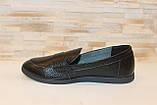 Туфли женские черные натуральная кожа Т1150, фото 2