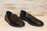 Туфли женские черные натуральная кожа Т1150, фото 3