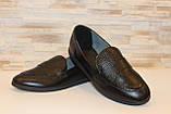 Туфли женские черные натуральная кожа Т1150, фото 4