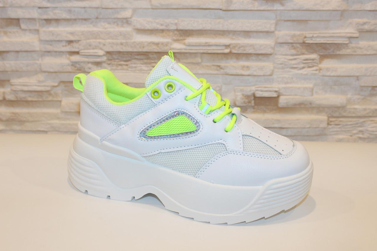 Кросівки жіночі білі Т1153