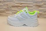 Кросівки жіночі білі Т1153, фото 2
