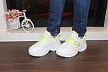 Кросівки жіночі білі Т1153, фото 4