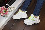 Кросівки жіночі білі Т1153, фото 6
