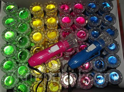 Детский фонарик разных цветов