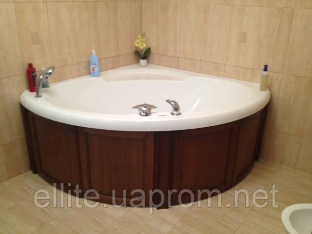 Обшивка для ванной из натурального дерева